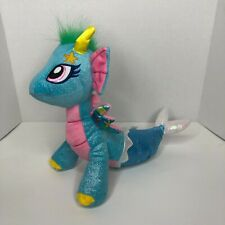 GlitterShine Dragons Sea Sparkle Blue Plush 2016 Snap! Toys