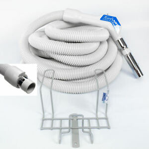 NEW GENUINE Vacuflo 30' UNIVERSAL central vacuum hose & rack