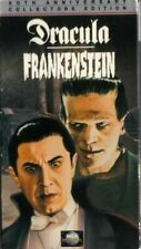 DRACULA FRANKENSTEIN Universal Monsters 60th Anniversary VHS Box Set Vintage