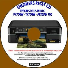 EPSON PX700W TX700W PRINTER WASTE INK FULL ENGINEERS RESET UTILITY WIN XP/7/10
