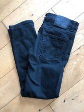 Men's Boys Levi's Levis 508 black Denim jeans w29 L32 Black Label