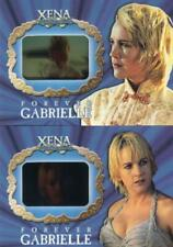Xena Season Six Forever Gabrielle Film Chase Card Set G1 and G2