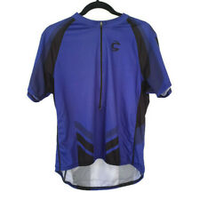 Jersey Cycling Cannondale Adult X Back Pouch Blue/Black Polyester