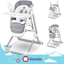 Lionelo Niles 2IN1 KINDER HOCHSTUHL UND BABY SCHAUKELN WIPPEN VERSTELLBAR USB
