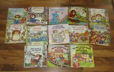 Vintage book Lot 13 Children, 11 Mercer Mayer Little Critters, 2 Get Along Gang