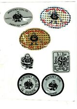 Nice Lot Of 7 Midwest Monterey Coal Co. Coal Mining Stickers # 36
