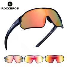 RockBros Polarized  Full Frame Cycling Glasses Sports Sunglasses Goggles Blue