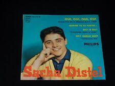 45  tours EP - SACHA DISTEL - OUI OUI OUI OUI - 1959