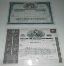 Konvolut Historische  Wertpapiere 4 Aktien