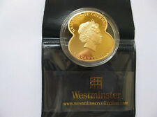 Rare 2011 GUERNSEY £5 Five Pound Coin Royal British Legion Poppy Gold Plated