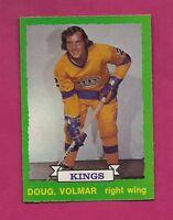1973-74 OPC # 215 KINGS DOUG VOLMAR ROOKIE  NRMT-MT  CARD (INV#5818)