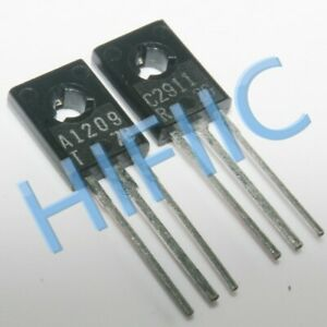 2Pairs 2SA1209 2SC2911 (A1209 C2911) Power Transistors TO126