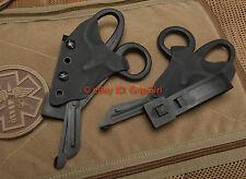 Black Trauma Shears+Black Kydex Sheath Holster TCCC Blow Out Kit Medic Gear EDC