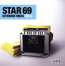 FREE US SHIP. on ANY 2 CDs! USED,MINT CD Various Artists: Star 69 Extended Mixes