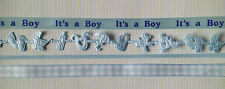 Lot Baby Boy blue Ribbon babies Announcements Scrapbook boys shower Favors cards