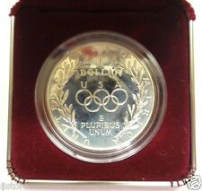 RARE 1988-S PROOF 'Seoul - S.Korea' Olympic Silver Dollars