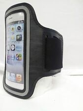 BLACK Armband Case Jogging Running Apple iPhone 4 4S 4G Holder Cover with Strap