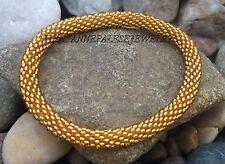 Nepal Bracelet glass beads Seed Beads Roll on Bracelets Crochet bracelet G702