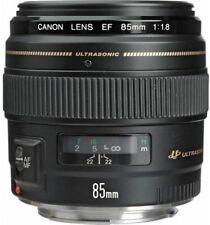 Canon 85mm f/1.8 EF USM Prime Lens - New UK Stock