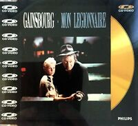 CD VIDEO SERGE GAINSBOURG MON LEGIONNAIRE CD OR/GOLD EDITION COLLECTOR 1988