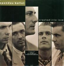 Spandau Ballet Crashed Into Love , How Many Lies (Live),Through The Barricad 12""