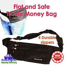 2x Travel Hiking Sport Handy Running Bum Bag Money Waist Belt Zip Pouch Bumbag