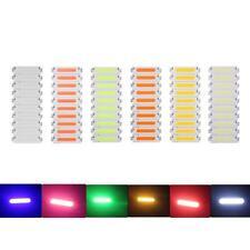 10pcs DC 9-12V 2W 100mA COB LED Strip Light High Power Lamp Chips Panel Bulb