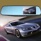1080P Full HD 4.3 Video Recorder Dash Cam Rearview Mirror Car Camera Vehicle DVR