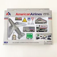 American Airlines DieCast Airport Playset Old Livery colors by Daron RT1661