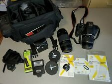 Canon EOS Rebel T5 Camera with Two Lenses and Accessories - Excellent Condition