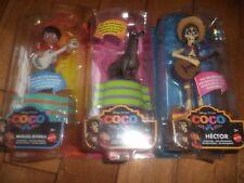 Disney Pixar Coco In Motion MIGUEL RIVERA - DANTE & HECTOR Figures NEW