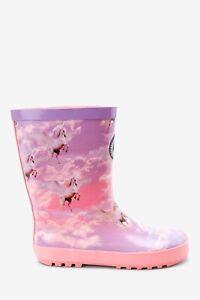 Hype Girls Junior Unicorn Wellies Pink