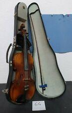 Schöne Geige Modell-Zettel Andr. Guarnerio Cremonensis Kopie um ca 1900-20 (66)