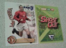 SHOOT OUT CARD 2003/04 (03/04) - Green Back - Manchester United - John O'Shea