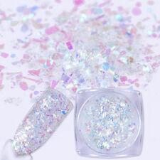 0.7g Sparkle Foil Paper Nail Sequins Irregular Paillette Nail Art Glitter Flakes