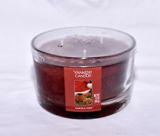 New Yankee Candle 3-Wick Santa's Pipe Scent Dish Candle 17oz
