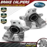 2x Brake Calipers for Audi VW Golf 93-98 Jetta 89-98 Passat Front Left & Right