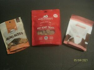 Dog Treat Lot Nutro, Stella & Chewy, & Bark Box
