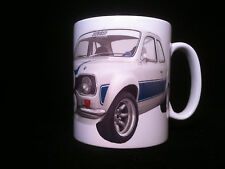 Ford Escort Mexico Classic car themed gift mug Rally