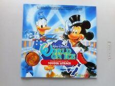 Walt Disney's World on Ice Program w Showband Page 1987 Brisbane Skating Mickey