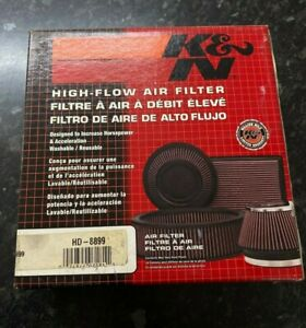 HD-8899 K&N Air Filter H/D TWIN CAM F/I 99-01 (KN High Flow Air Filter) HARLEY