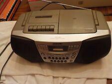 Sony Cfd-S22 Am/Fm Cd/Radio/Cassette Corder Player Boombox Mega Bass