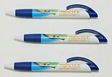 3 New Pharmaceutical Pravachol Pens  Wide Body Fancy Clips NEW