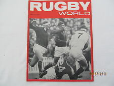 Rugby Union Magazine--Rugby World January 1970.