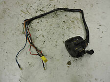 KAWASAKI S3 400 KH400 TRIPLE LEFT HAND CONTROL SWITCH 1976 K25