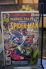 Marvel Tales starring Spider-Man #102 Marvel Comics 1979 Man-Wolf