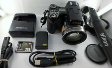 Nikon COOLPIX 8800 8.0MP Digital Camera - Black + 2 GB memory Card