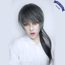 Prince Gothic Gradient Curly Hair Mixed Short Wig Daily Harajuku Men Boy