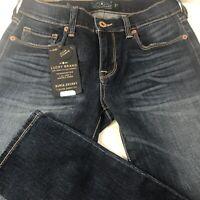 Lucky Brand Womens Jeans Size 0/25 Regular Sofia Skinny Denim Stretch New