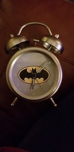 Batman Retro Alarm Clock Pottery Barn Kids Gently Used Working